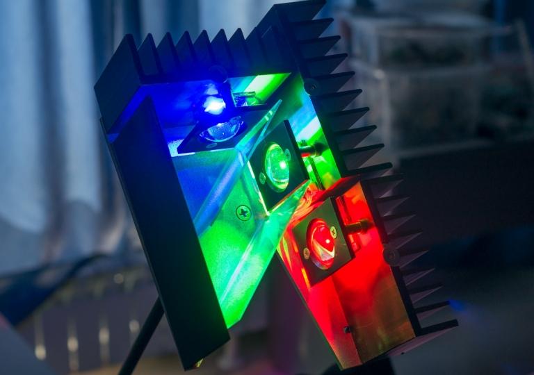 lamp RGB 50 W dichroic mirrors 2