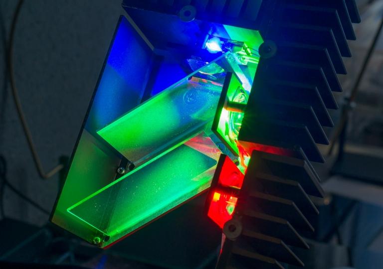 lamp RGB 50 W dichroic mirrors 3